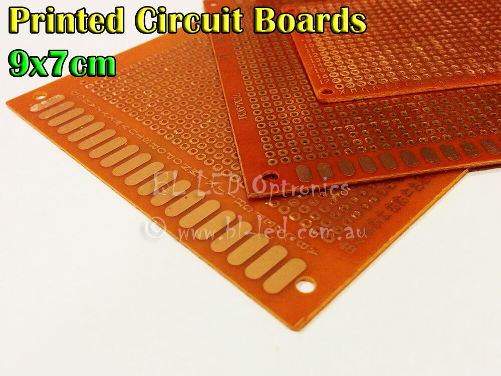Printed Circuit Board 14x9 Cm For 3mm 5mm Superflux Led Diy Project
