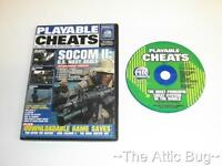 Sony Playstation 2 / PS2 ~ Playable Cheats Vol.17 ~ Socom II