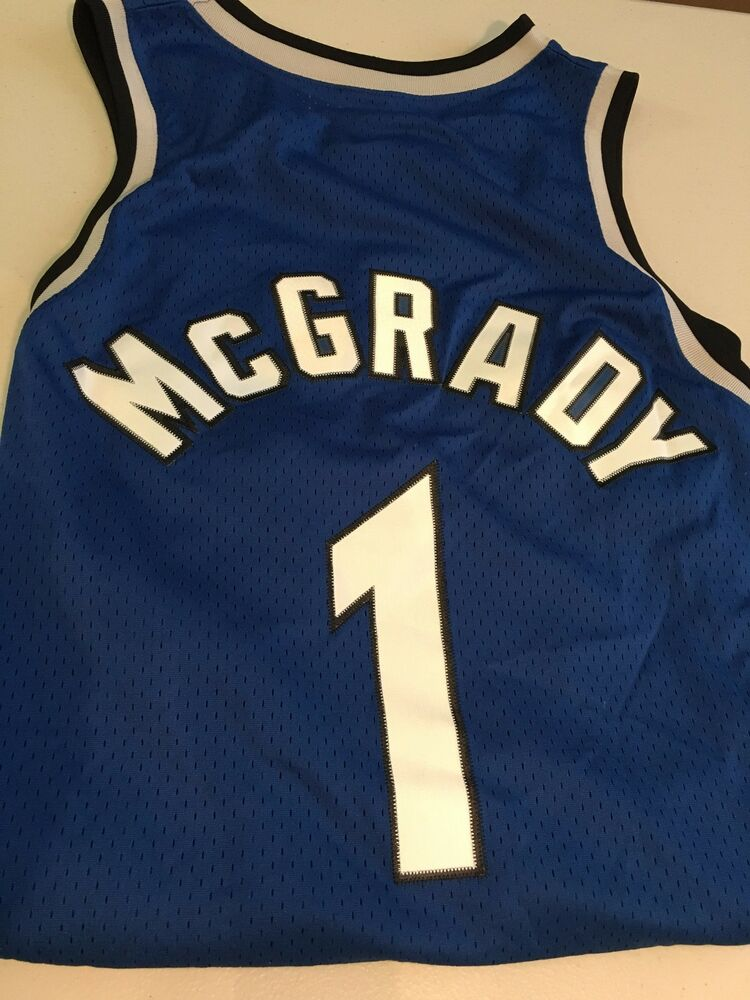 Mcgrady 1 Orlando Magic Stitched Retro Nike Nba Swingman