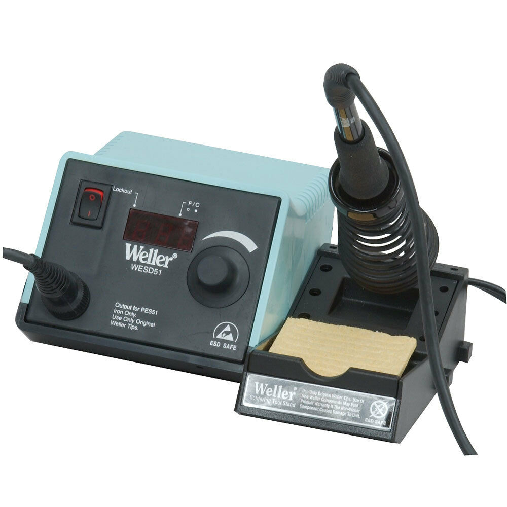 Digital Soldering Station : Weller wesd watt digital soldering station ebay