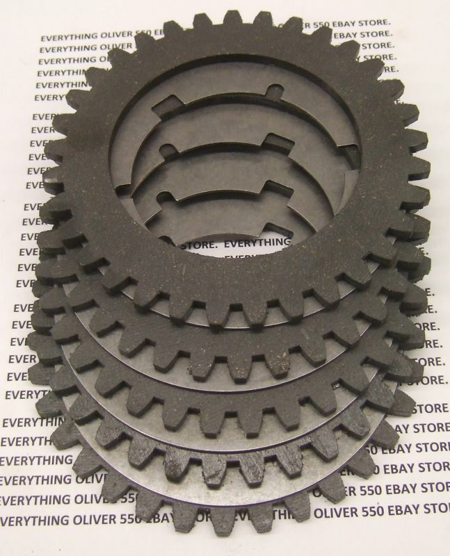 Oliver Tractor Clutch : Complete pto clutch disk plate stack oliver tractor