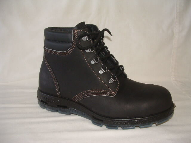 Redback Usaok Lace Up Safety Steel Cap Boots Color Brown
