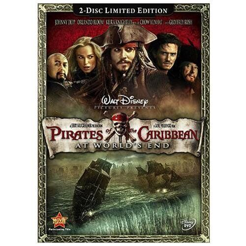 Disney Doppelgangers Pirates Edition: Pirates Of The Caribbean: At World's End NEW (DVD, 2-Disc