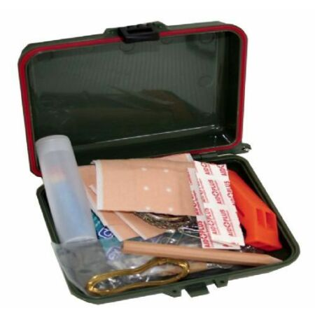 img-MILITARY SURVIVAL KIT camp fire compass hacksaw fishing pack waterproof mess box