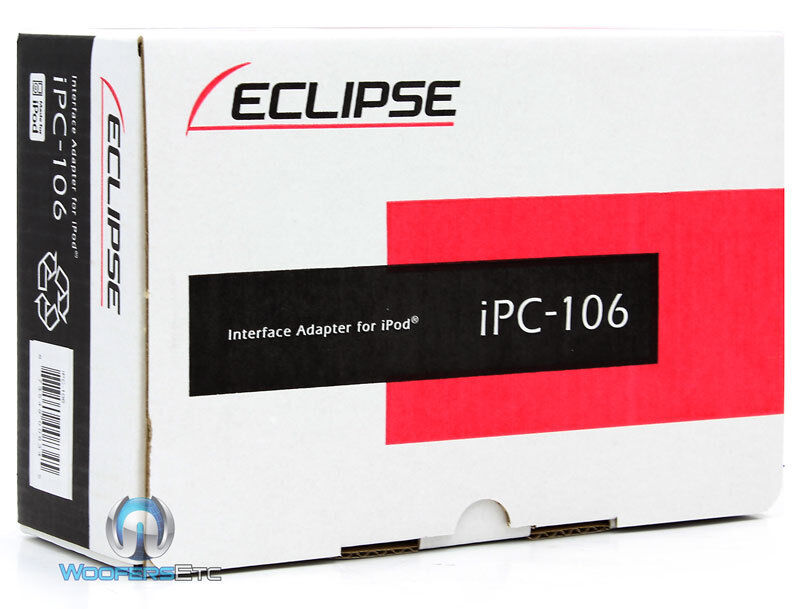 ECLIPSE IPC-106 IPOD INTERFACE For CAR STEREO CD DVD TV