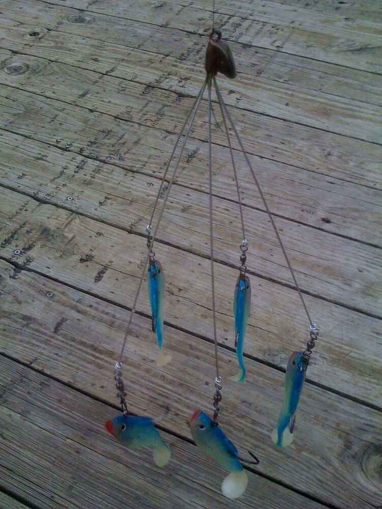 Shad school umbrella rig fishing in florida tennesse for Alabama rig fishing