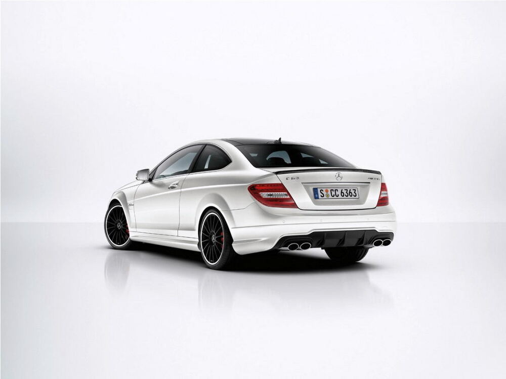 2012 mercedes benz w204 c63 coupe original amg rear. Black Bedroom Furniture Sets. Home Design Ideas