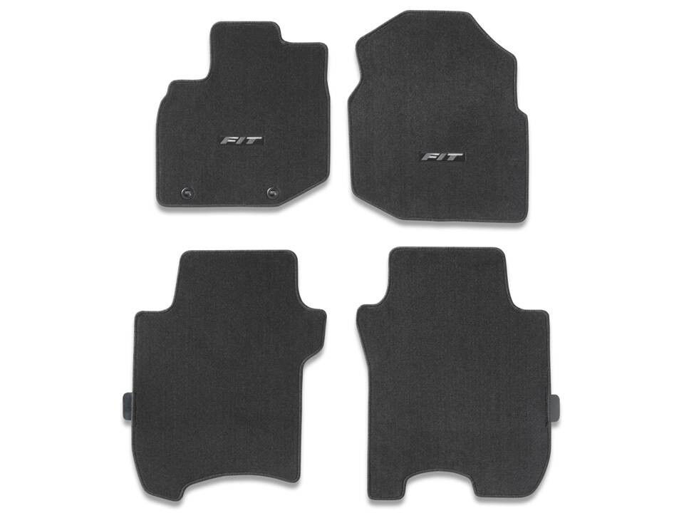 Genuine Oem Honda Fit Black Carpet Floor Mat Set 2009