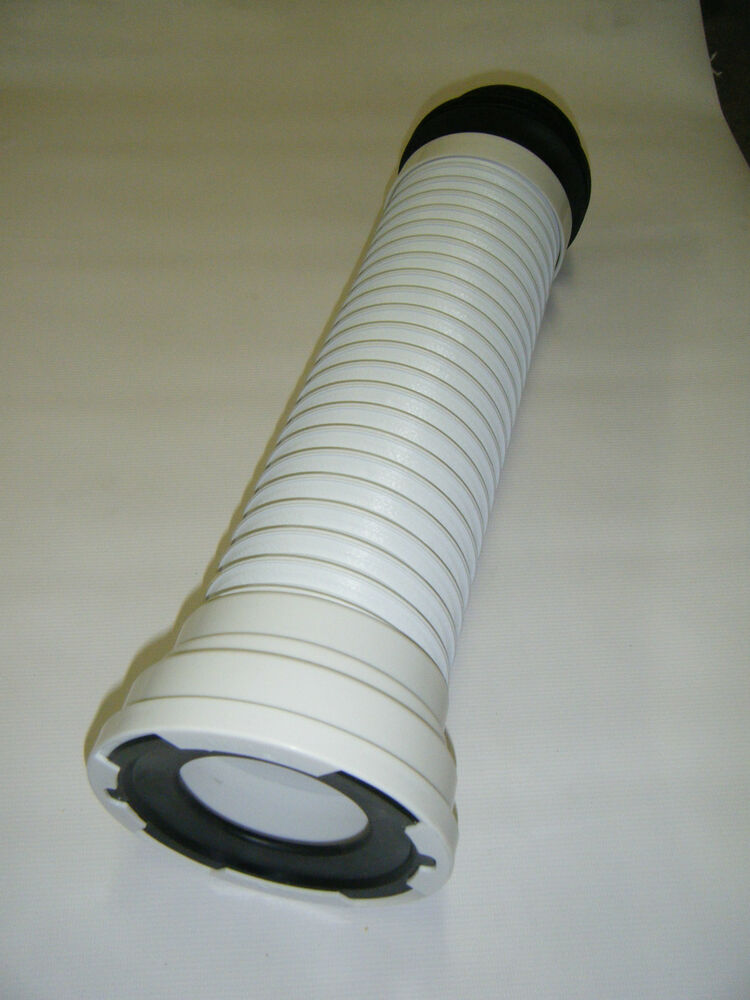 Toilet Waste Soil Pipe Flexible Pan Connector Up To 630mm