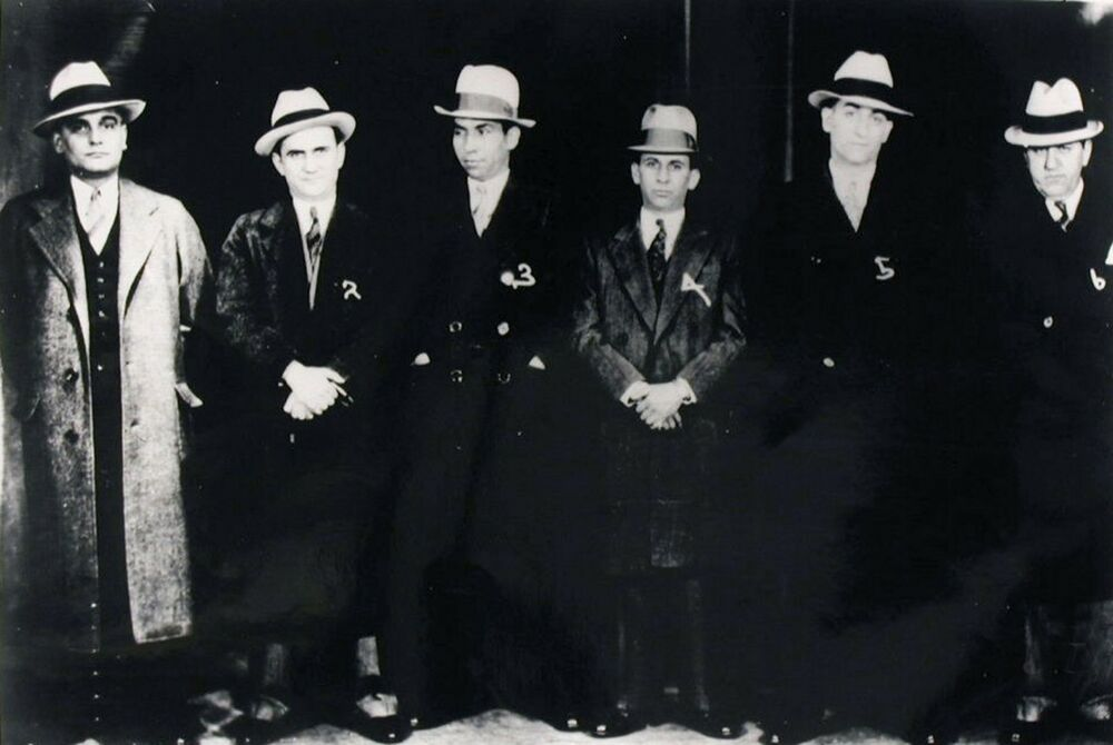 This Blog of Ours (thisblogofours: Lucky Luciano and Meyer ...  Meyer Lansky Lucky Luciano