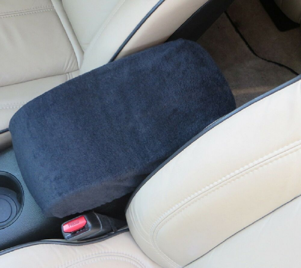 Auto Center Armrest Covers (Console Cover) F6 -Black | eBay
