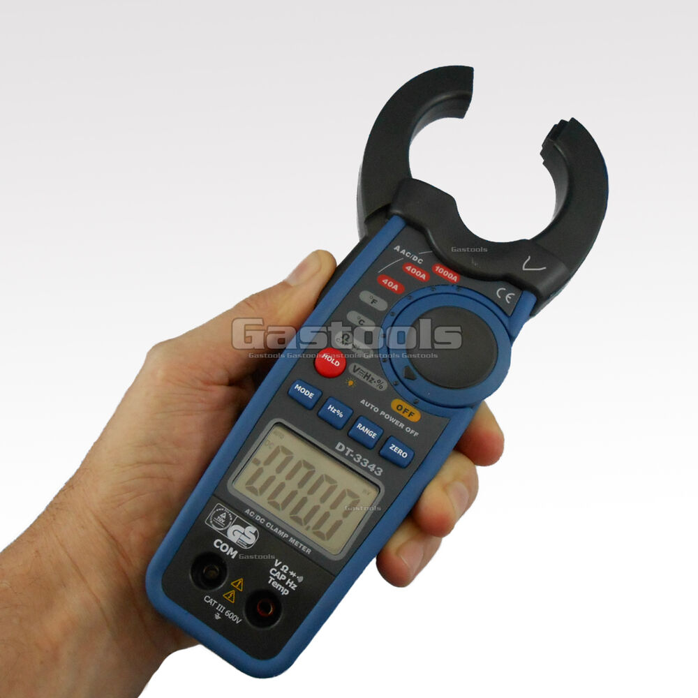 how to use ac clamp meter