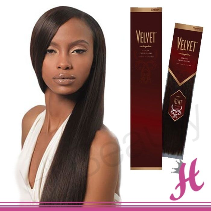 Outre Velvet Virgin Indian Remi Wet And Wavy 100 Human