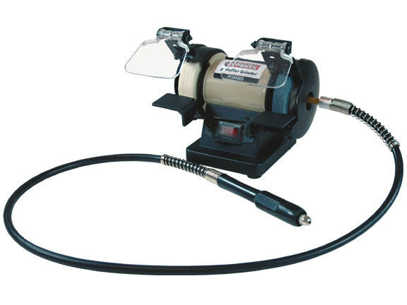 Buffer Grinder 3 Quot Bench Combo With 42 Quot Flex Shaft For