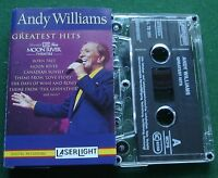 Andy Williams Greatest Hits Live From Moon River Theatre Cassette Tape - TESTED