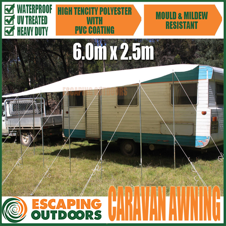 Awnings For Rvs : Rv shade awning images oztrail tent