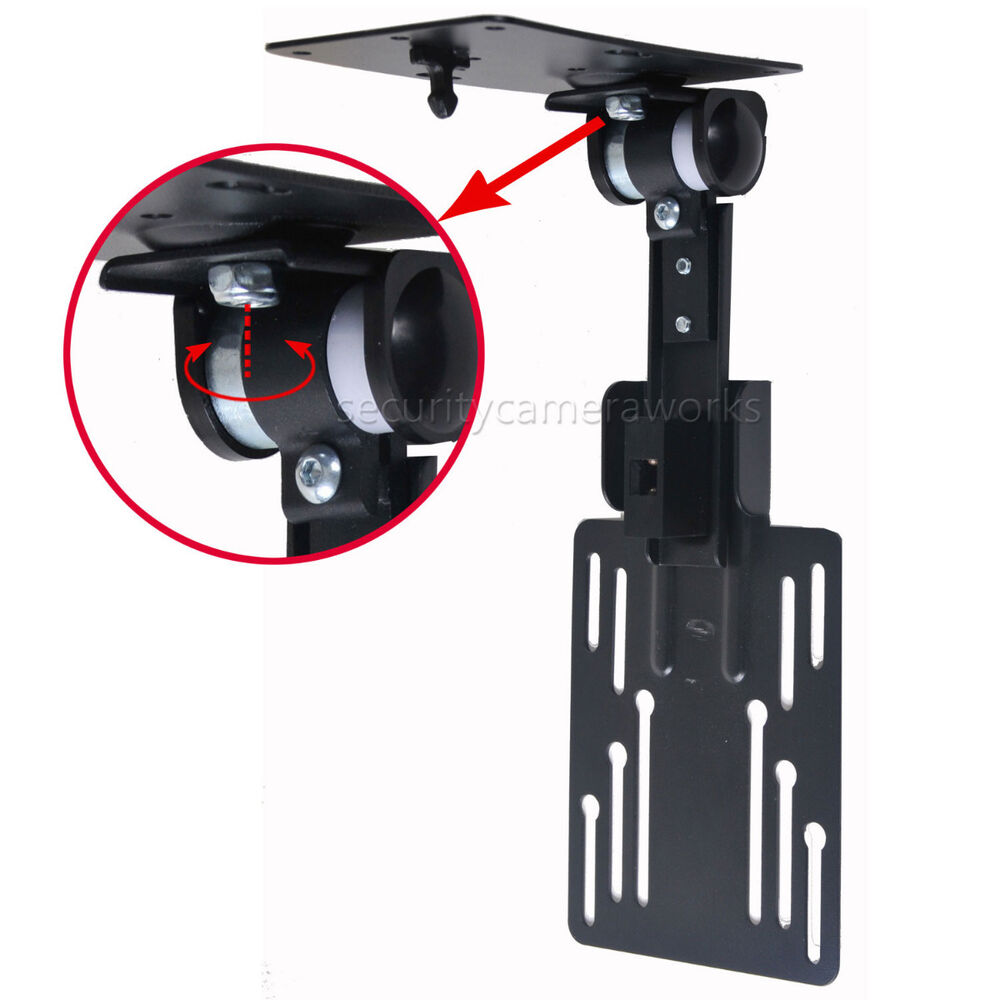 under cabinet tv mount led lcd monitor flat panel kitchen tilt flip