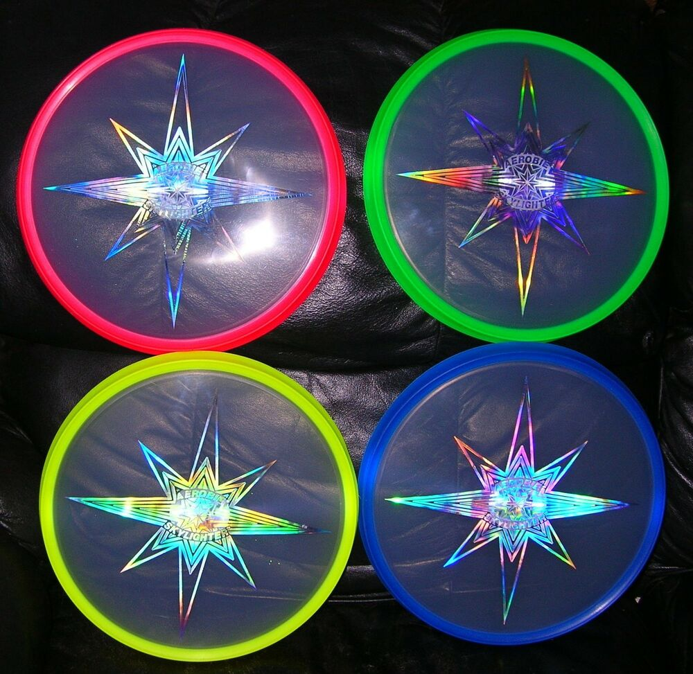 Authentic Aerobie Skylighter Flying Disc Ufo Free Us