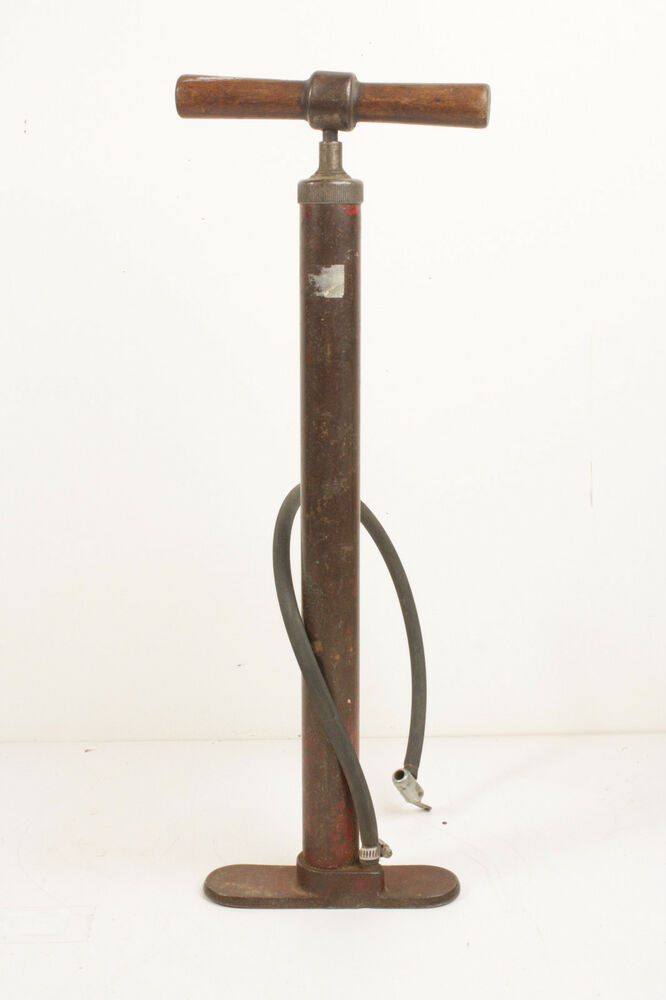Antique Bicycle Metal Tire Pump Ebay