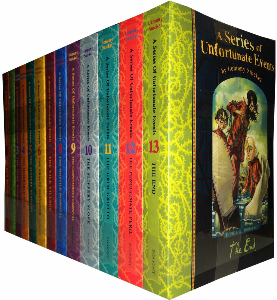 A series of unfortunate events 13 books collection set for Bureau 13 book series