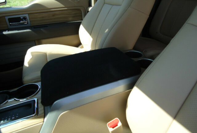 auto center armrest covers center console cover f4 black ebay. Black Bedroom Furniture Sets. Home Design Ideas