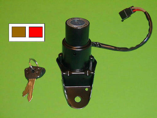 ignition switch yamaha xv 535 xv535 virago 1998 2003 ebay. Black Bedroom Furniture Sets. Home Design Ideas
