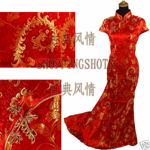 chinese gown dress qipao cheongsam wedding 080231 red offer custom ...