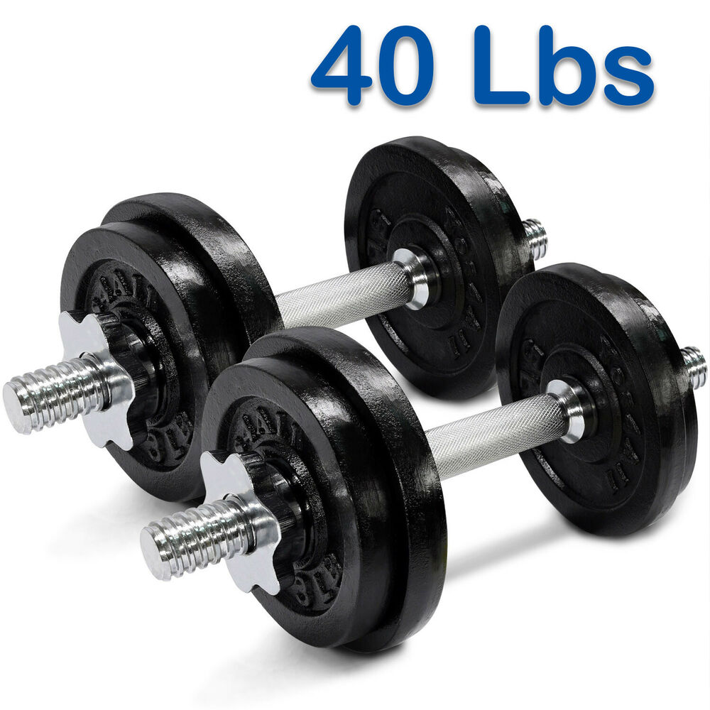 Yes4All Adjustable Dumbbells Set Gym Cap Plate Weight