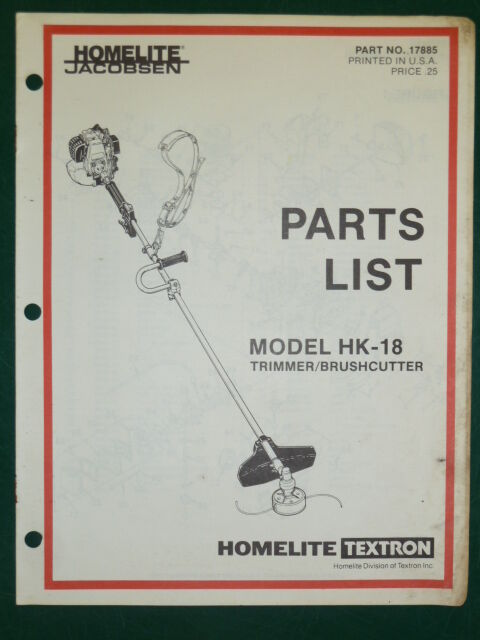 Homelite Ht 22 Owners Manual Troubleshooting