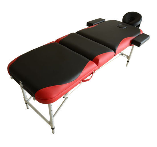 Light weight portable massage table beauty therapy couch bed spa tattoo alumi - Table de massage alu ...