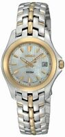Seiko Women's SXDB88 Dress Two-Tone Stainless Steel Mother-of-Pearl Dial Watch