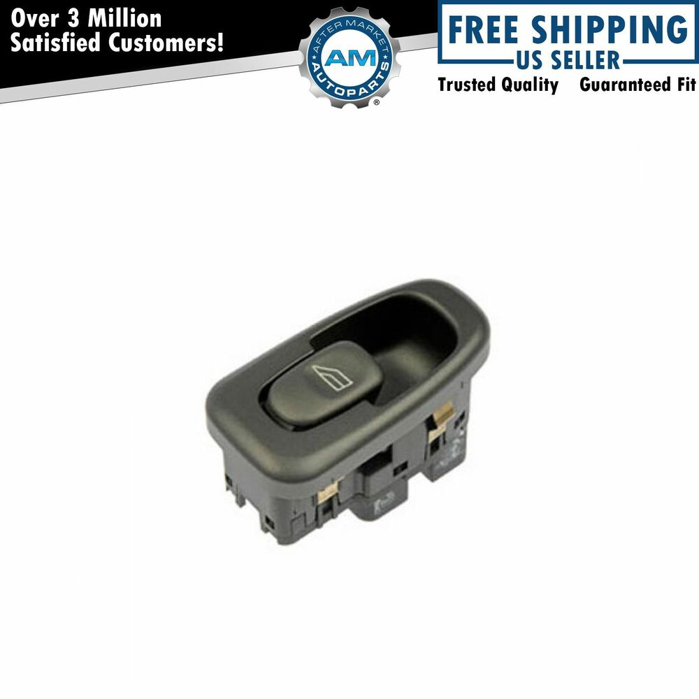 1 button rear door power window switch left or right for for 1998 volvo v70 master window switch