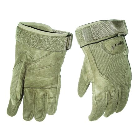 img-HEAVY DUTY SPECIAL OPS GLOVES cadets Army military ultra tough mens Small olive