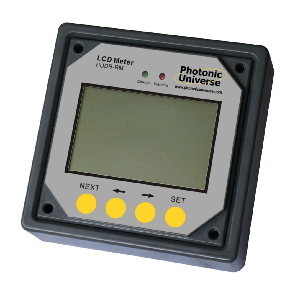 Marine Battery Charger And Monitor : Remote meter display monitor for dual battery solar
