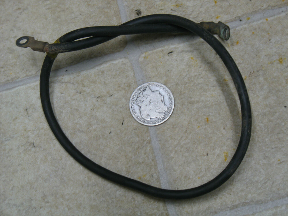 86 honda trx250 fourtrax negative battery cable terminal