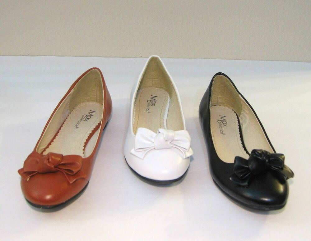 new faux leather ballet flat shoes size ebay