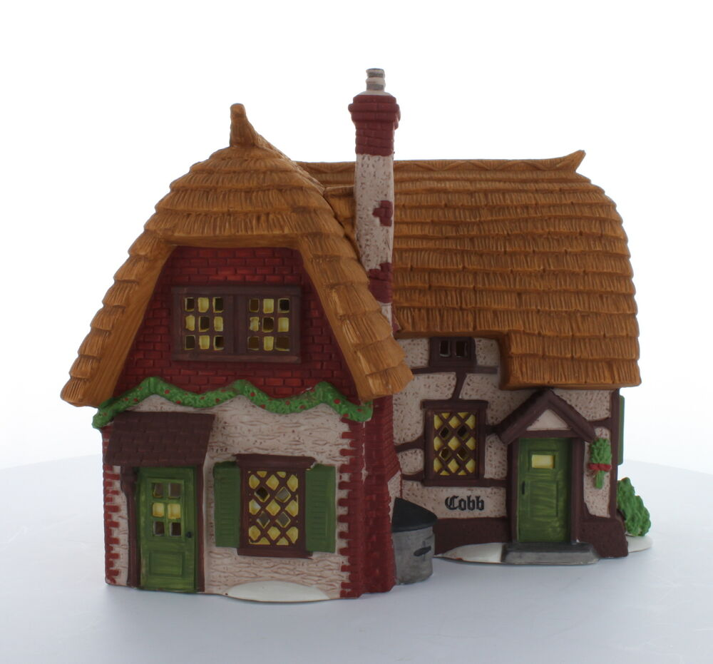 Department 56 Dickens 39 Village Collectible Cobb Cottage