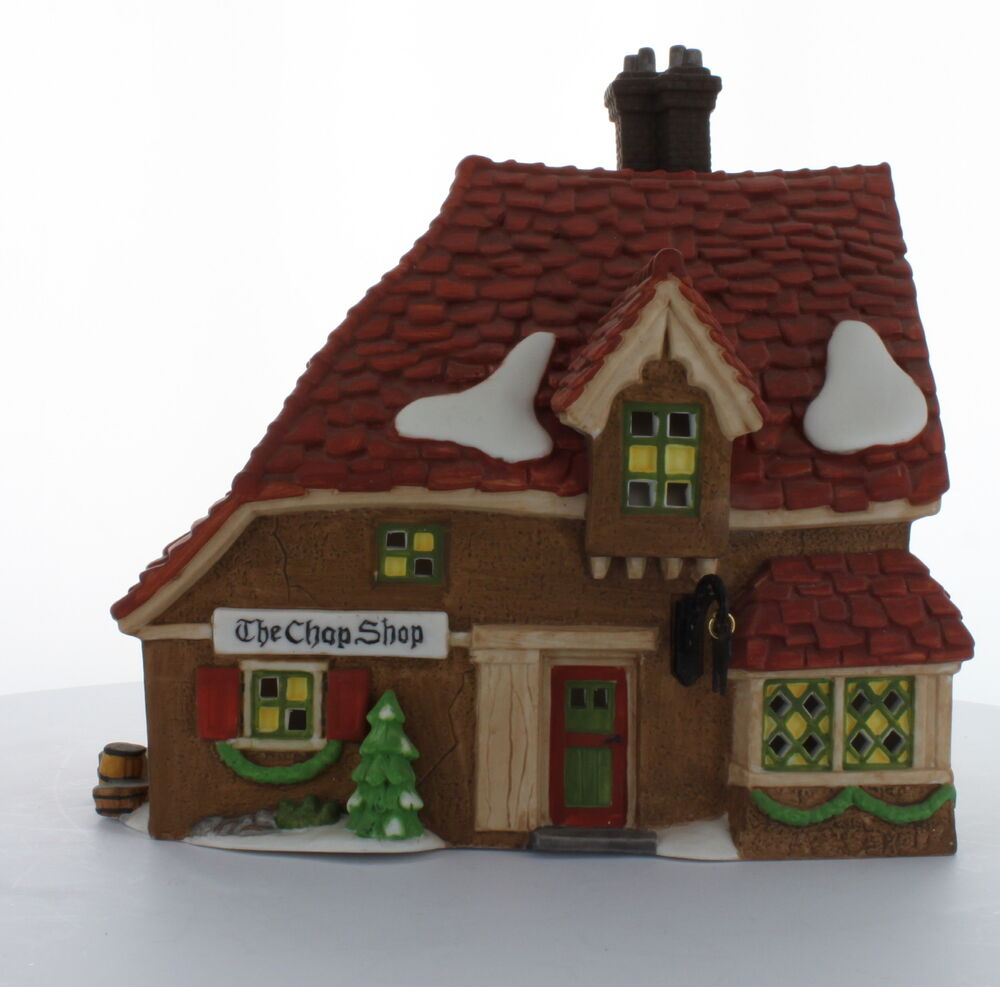 Department 56 Dickens 39 Village Collectible The Chop Shop