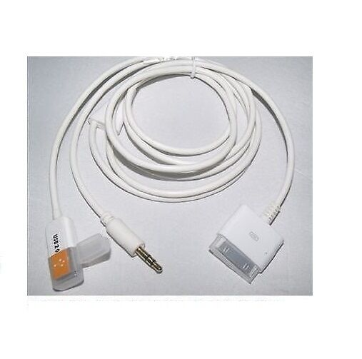 Car Audio Data For Apple Ipod Itouch Iphone 3 3gs 4 4s Usb: USB Dock To Car Audio AUX 3.5mm Data Charger Cable 4 IPod
