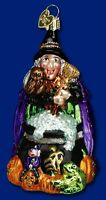 Old World Christmas Witch Cauldron Ornament 26023 35 21