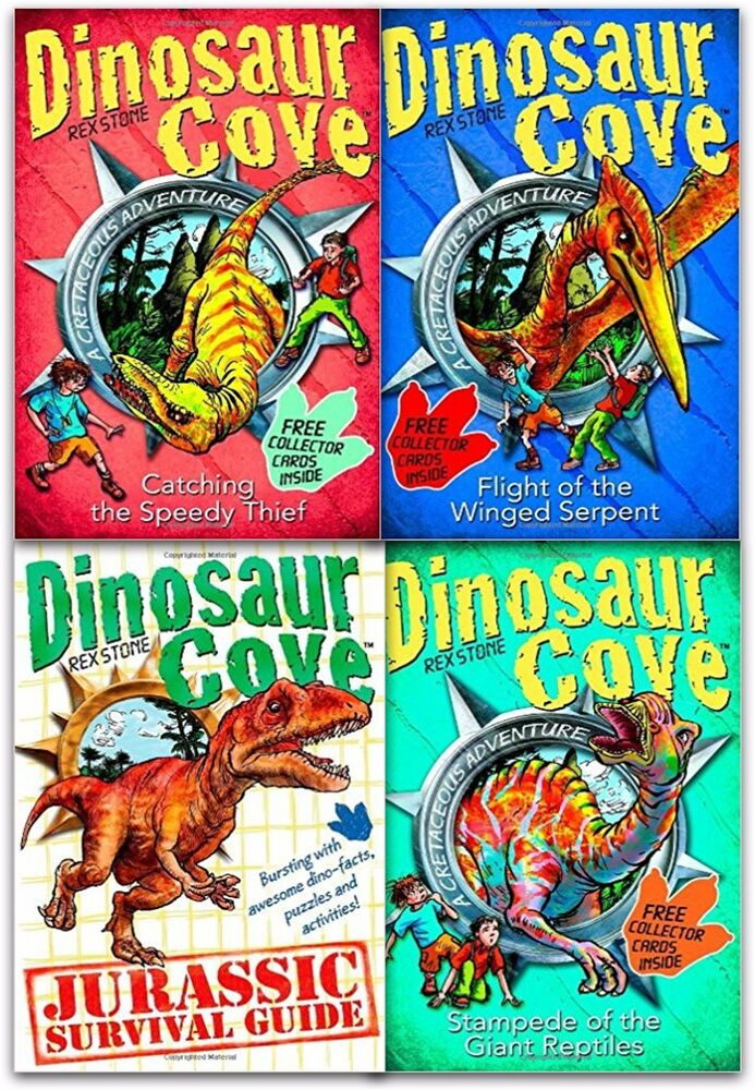 Dinosaur Cove Book 1 – Attack of the Lizard King ...