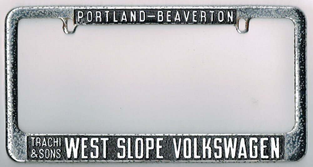 Portland Beaverton West Slope Vintage Volkswagen Vw Dealer