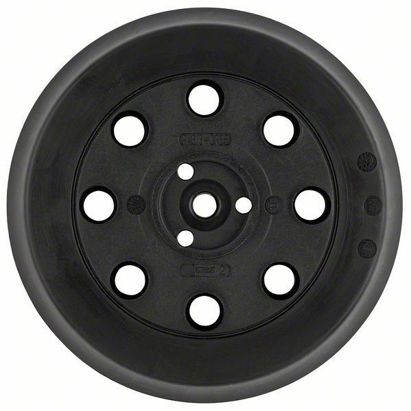 bosch pex 125 rubber backing pad medium 2608601062 ebay. Black Bedroom Furniture Sets. Home Design Ideas