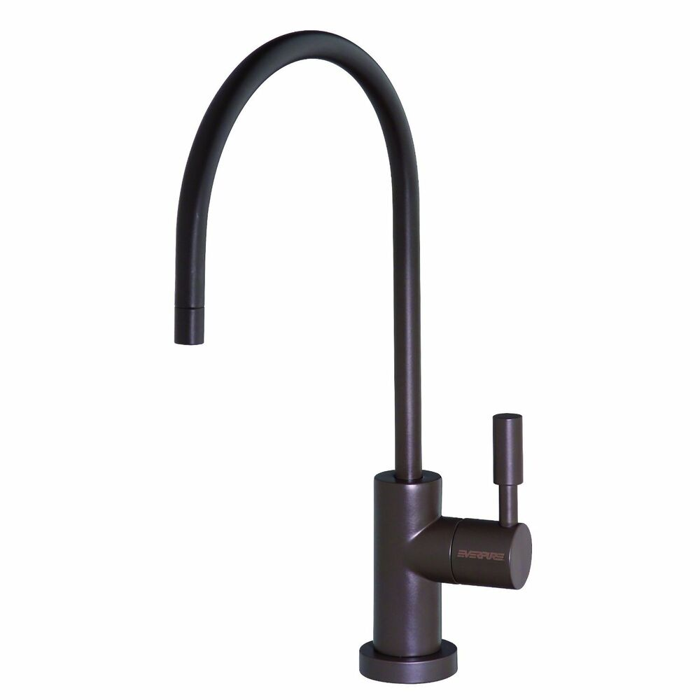 new everpure designer single temperature faucet in oil rubbed bronze ev9000 95 ebay. Black Bedroom Furniture Sets. Home Design Ideas