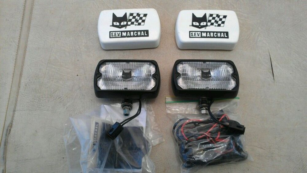 Nos  Amc  Amx  Javelin  Jeep  Eagle  Sx4  Marchal Fog Light Kit