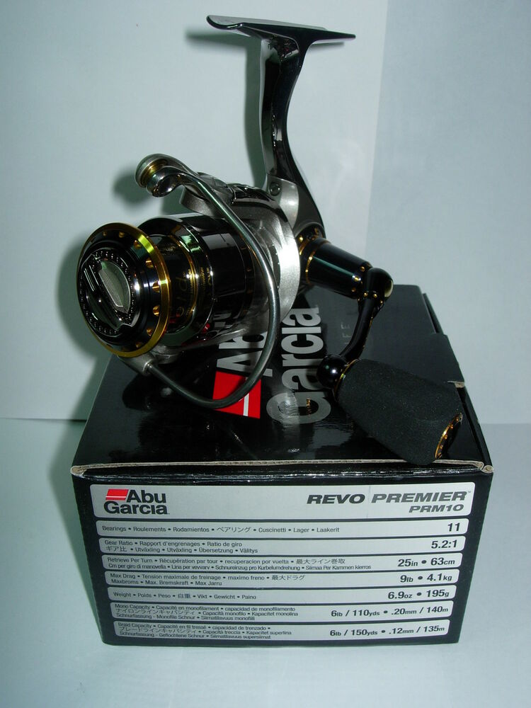 Abu garcia revo premier prm10 saltwater spinning fishing for Ebay fishing reels