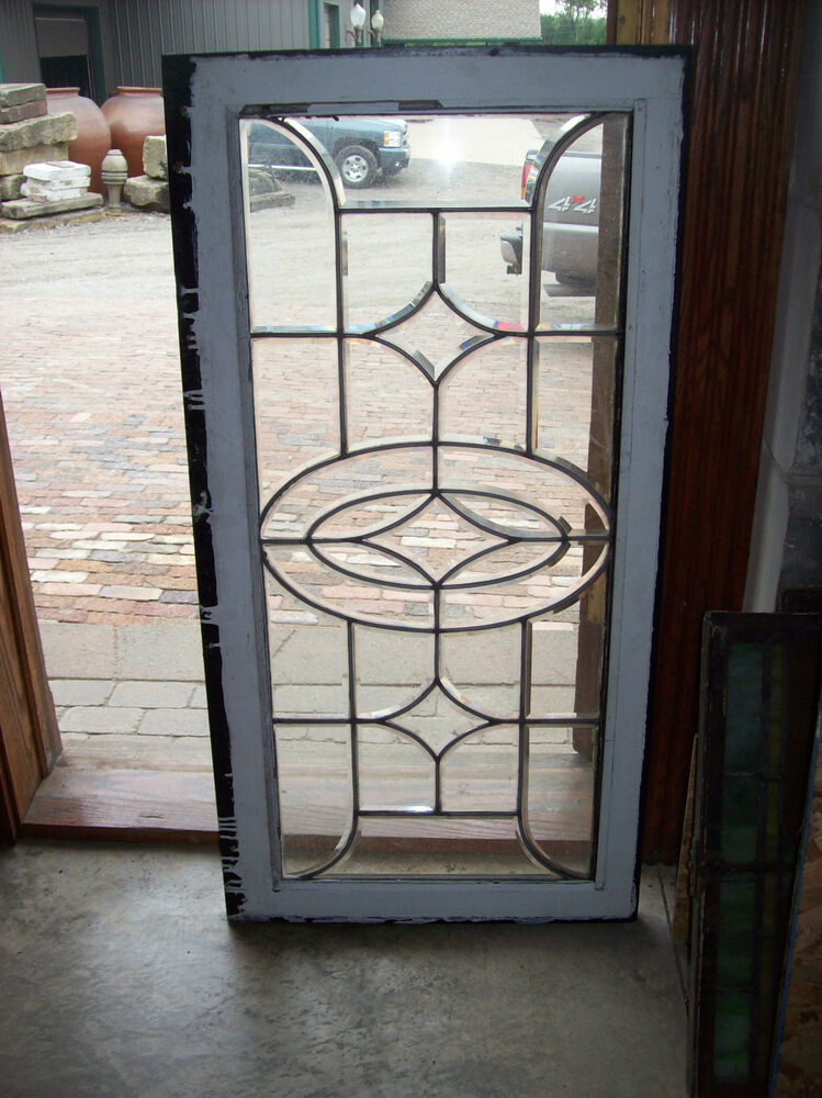 Simple Thick Glass Beveled Window Sg 1279 Ebay