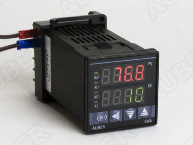 1 16 DIN PID Temperature Controller w Timer Relay
