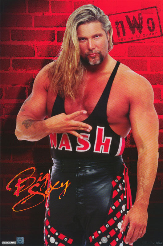 POSTER:WRESTLING: KEVIN NASH - BIG SEXY - WCW 1999 - FREE ...
