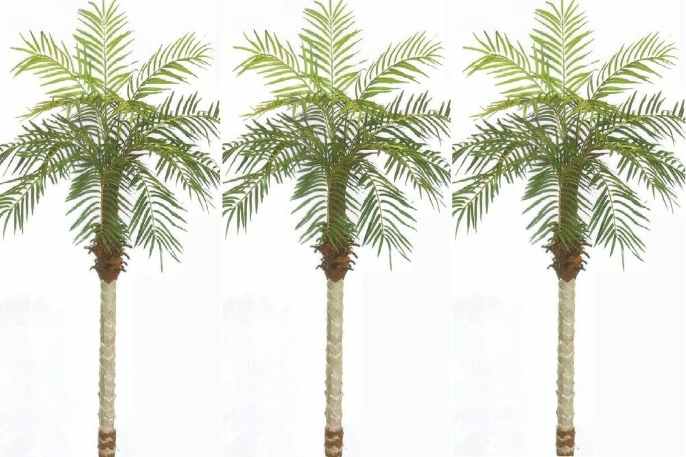 3 artificial 5 39 palm tree plant silk home decor bush pool for Palm tree decorations for the home